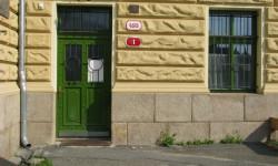 Vchod do budovy Sokola