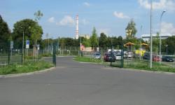 Parkoviště před stadionem FC Viktoria Plzeň